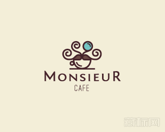 Monsieur Cafe标志图片