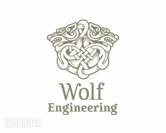 Wolf Engineering工程公司logo设计
