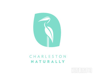 Charleston Naturally护肤品logo设计