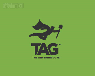 The Anything Guys超人logo设计