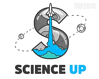 Science Up科学了logo设计