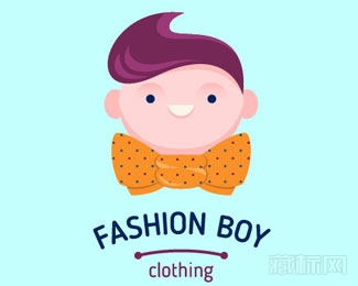 Fashion Boy Clothing飘逸发现男人logo