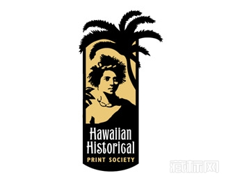 Hawaiian Historical Print Society夏威夷打印店logo设计