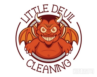 Little Devil Cleaning怪兽标志欣赏