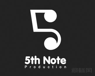 5th Note Production标志设计欣赏