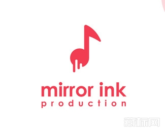 Mirror Ink Production墨水logo设计欣赏