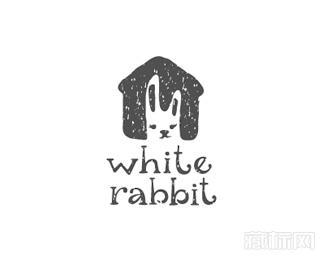 White Rabbit白兔logo设计欣赏