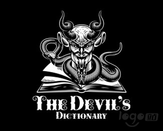 The Devils Dictionary 魔鬼字典logo设计欣赏