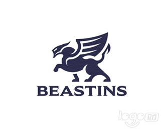 The winged beast logo设计欣赏