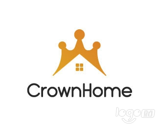Crown Home logo设计欣赏