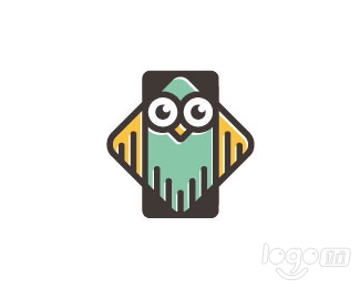Smart Owl Phone logo设计欣赏