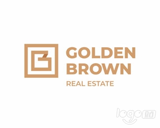 Golden brown logo设计欣赏