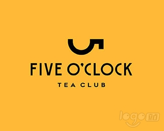 Five O'clock logo设计欣赏