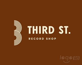 Third St. Records logo设计欣赏