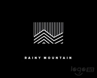 Rainy Mountain logo设计欣赏