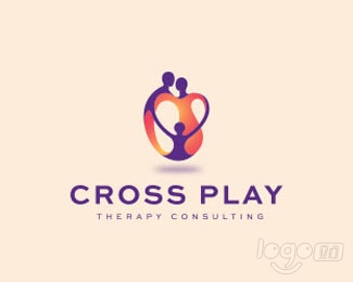 Cross Play Therapy Consulting logo设计欣赏