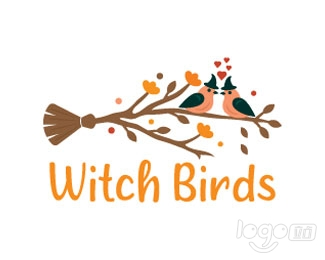 Witch Birds logo设计欣赏