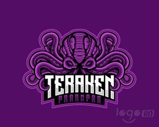 Krakens Esport Gaming游戏logo欣赏